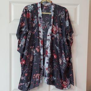 Loft floral kimono size M/L
